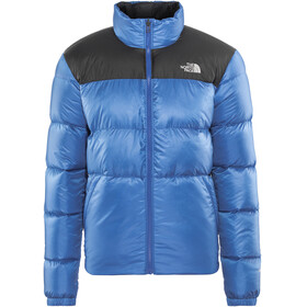 The North Face Nuptse III Jacket Men Turkish Sea/TNF Black